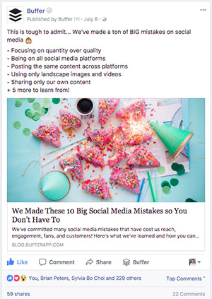 Blog Post Advertising With Facebook Ads