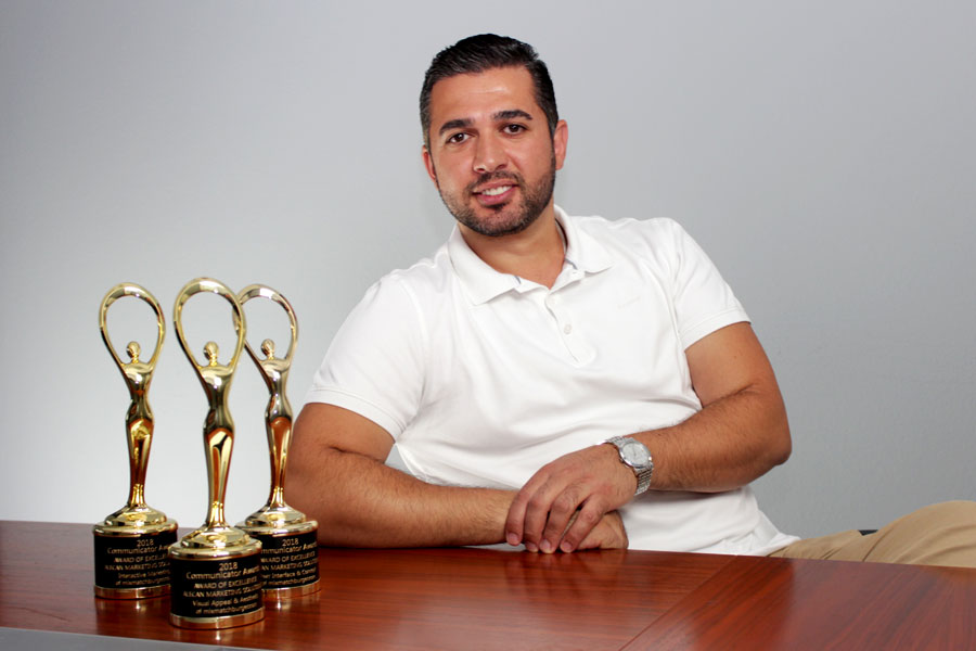Armen Akopyan Awarded for Excellence by The Communicator Awards
