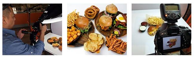 Mix & Match Burger Photography