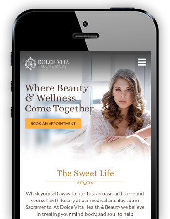 Dolce Vita - Mobile Website