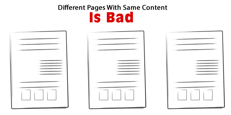 Duplicate Content Is Bad For SEO