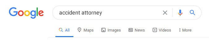 Google Search For Law Firm
