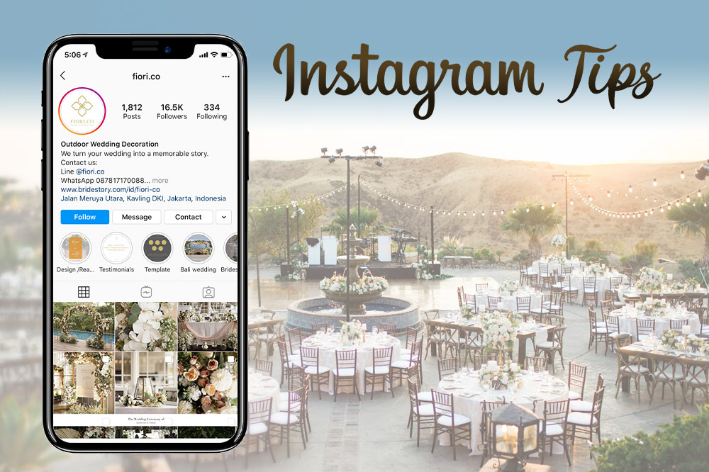 Instagram Tips For Wedding Venues