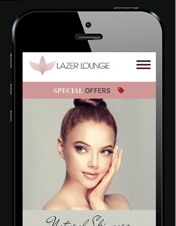 Lazer Lounge Mobile Website