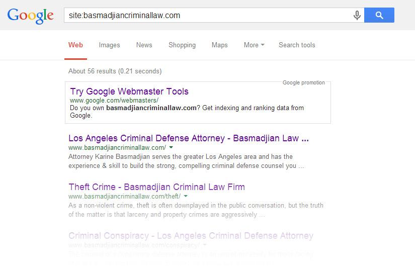 Google Colon Search