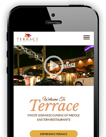 terrace restaurant and lounge - mobile website